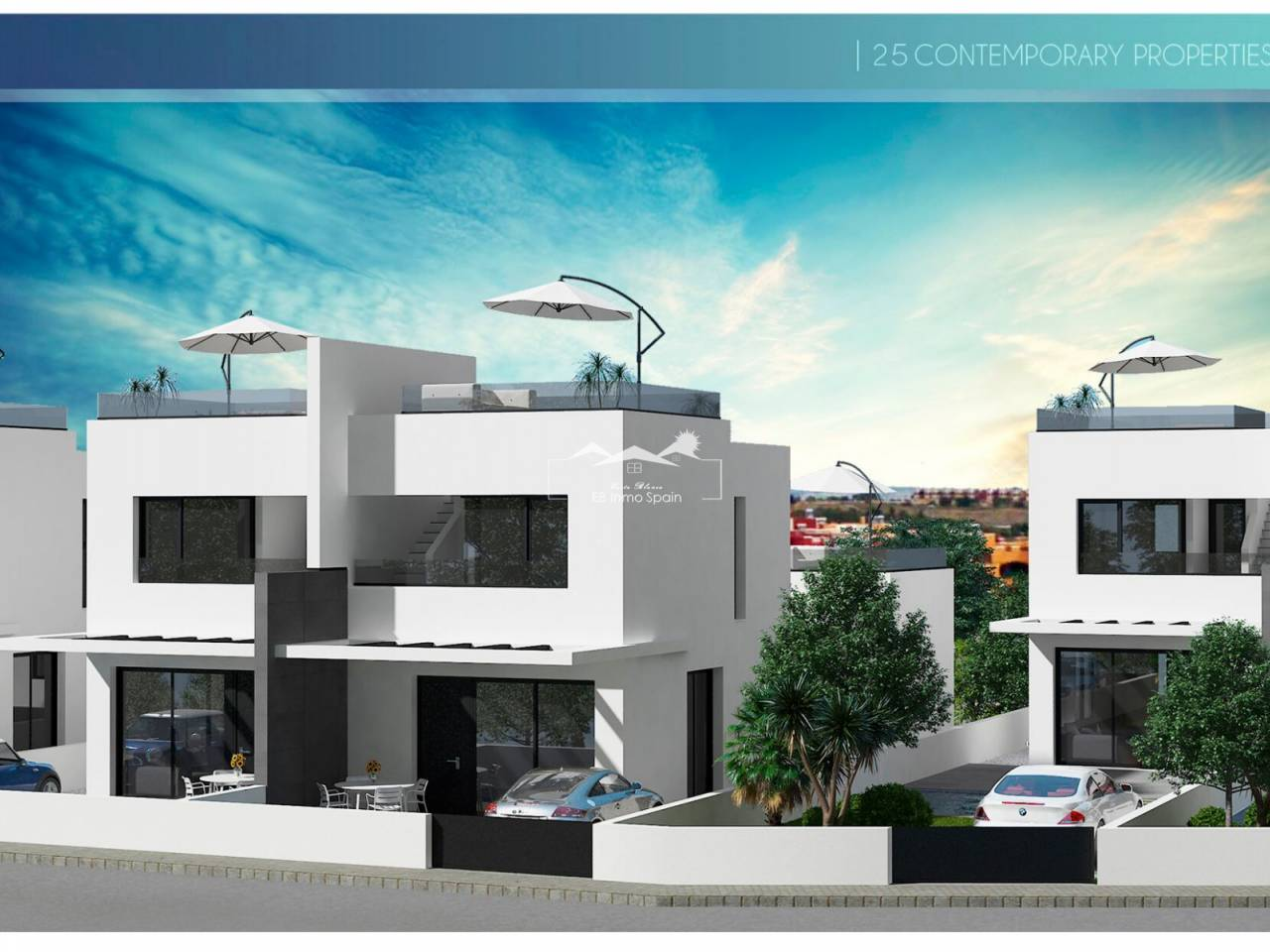 New Build - Semi Detached House - Orihuela Costa - Villamartin